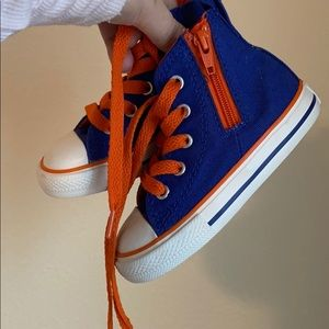 Converse high tops size 6 toddlers gender neutral